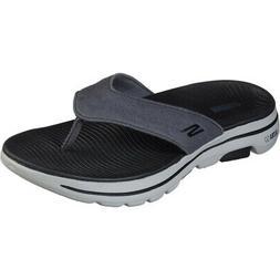 Skechers Mens Go Walk 5 Varson Lightweight Flip Flops Thongs