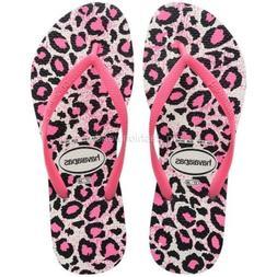 Havaianas Slim Animals Flip Flops Sandals Slip on Flat Shoes