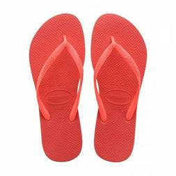 Havaianas SLIM Women's Flip Flops CORAL NEW Pick Size 35/36