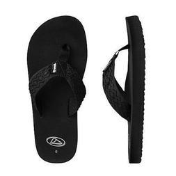 Reef Smoothy Black Men's US Size 10 Slip On Sandals/Flip F