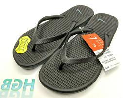 Nike Solarsoft Thong 2 Womens Flip Flops Sandals Thong Black