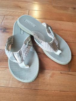 Sperry Top-Sider  Women's Thong Sandals flip flops new meta