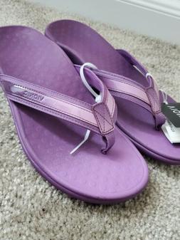 Vionic tide ii Purple Flip-Flops Size 10
