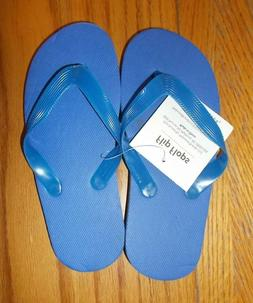 Toddler Boys Size 8-9 Blue Flip Flops NWT