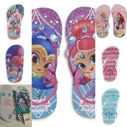 Toddler Girls  -beach shoe, flip flops.  Asst colors, NWT
