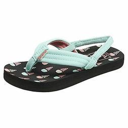Reef Toddler Girls Little Ahi Flip Flops Sandals Ice Cream A