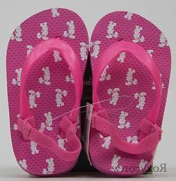 Disney Toddler Girls Pick Mickey Mouse Thongs Flip Flops Siz