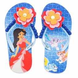 Toddler or Child Disney Store Elena Avalor Flip Flops Size 7