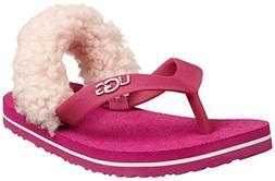 Toddler UGG Australia 'Yia Yia' Sandal Fruit Punch/ Baby Pin