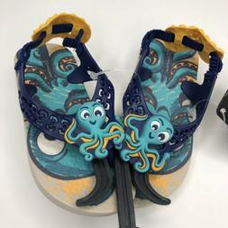 Ipanema Toddler Shoes size 8 Sandals Flip Flops Octopus Sea