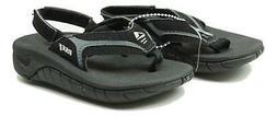 Reef Toddler Unisex Slap II Flip Flops Sandals Black Grey 3/