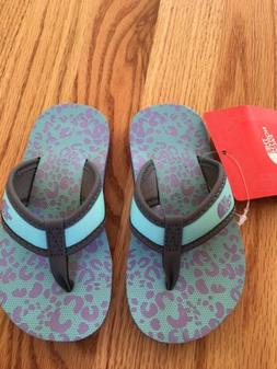 The North Face Toddlers Flip Flops Size 8 New