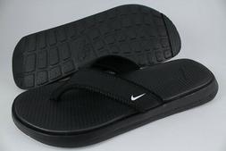 ultra celso thong black white flip flops