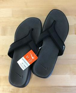 Nike Ultra Celso Thong Men's Black Flip Flops - Sizes 8, 9,