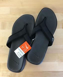 Nike Ultra Celso Thong Men's Black Flip Flops - Sizes 8, 9,