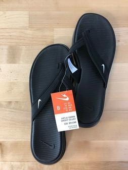 Nike Ultra Celso Thong Women's Black Flip Flops - Sizes 6-11