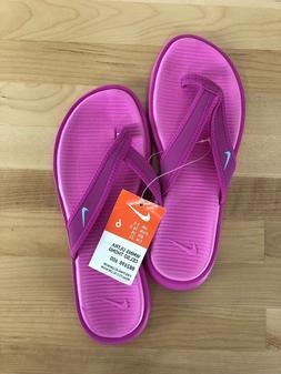 Nike Ultra Celso Thong Women's Fire Pink Flip Flops - Sizes