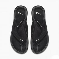 Nike Ultra Comfort Thong 882697-001 Black White Women's Sand