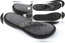 ULTRAIDEAS Women's Adjustable Flip Flop Slippers 9-10, Dark