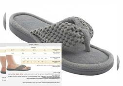 ULTRAIDEAS Women's Memory Foam Flip Flop Slippers with Cozy
