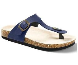 US Shoe Size Flip Flop Adjustable Metal Buckle Thong Sandals