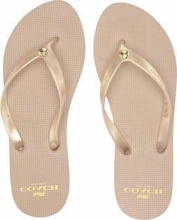Coach US Shoe Size Women Flip Flops Slip On Comfort Summer B