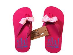 Wavewear KIDS Shoes GIRLs Flip Flops Arch Support with Bows