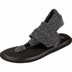Woman Sanuk Yoga Sling 2 Knitster Flip Flop Sandals 1017574