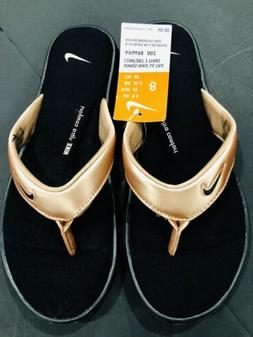Nike Woman's Ultra Comfort 3 Footbed  Thongs Size 8 NWT Fl