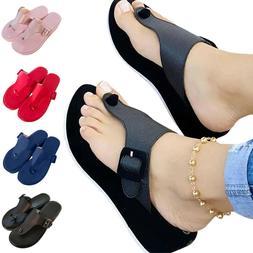 Women Platform Flip Flops Sandals Beach Casual Summer Slider