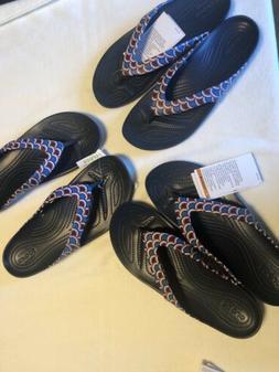 Crocs Women's 7 8 9 10 Kadee II Vacay Vibes Flip Sandals Fli