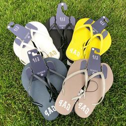 Gap Women's Flip-Flops Beach Rubber Sandals Solid Color
