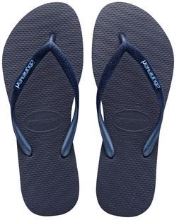 Havaianas Women`s Flip Flops Slim Velvet Sandal Navy Blue wi