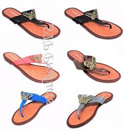 Women's/Girl's Flip Flops Thong Slip On Casual Sandals Shoes