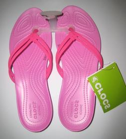 Women's Crocs Isabella Sandal Pink Size 9 New NWT MSRP $29.9