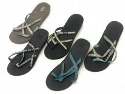 Teva Women's Mandalyn Wedge 2 Ola Sandals Flip Flops 1000099