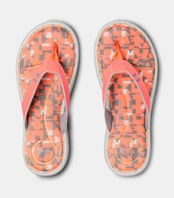 Women's Under Armour Marbella Vi Digi Thong Sandals - Flip F