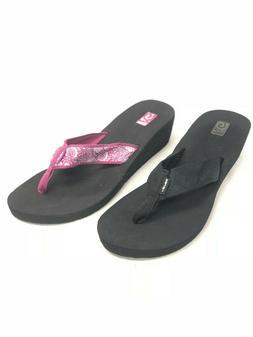 Teva Women's Mush Mandalyn Wedge 2 Sandals Flip Flops Magent