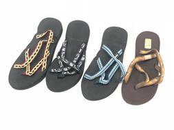 Teva Women's Olowahu Flip Flops Sandals Strappy Mush 1008992