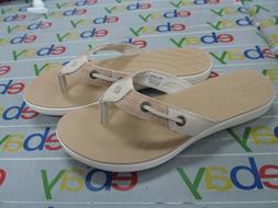 Sperry Women's Seabrook Tan Sandals Flip Flops Thongs sandal