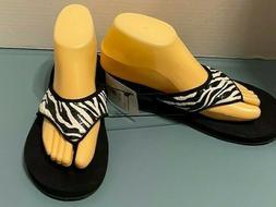women s size 8 flip flops thong
