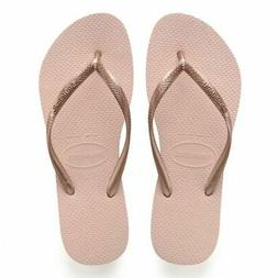 Havaianas Women's Slim Flip Flop Ballet Rose Sandals 7-8 US/