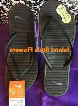 Women's NIKE SOLARSOFT THONG 2 Flip Flops Sandals 488161 090
