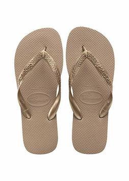 Havaianas Women's Top Tiras Sandals, Rose Gold