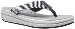 Skechers Women's Upgrades Flip Flop,navy 2,8 M US