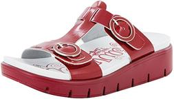 Alegria Women's Vita Duo Red Patent Sandal  Size: Euro 37 \