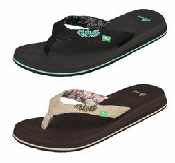 Sanuk Women's Yoga Paradise 2 Flip Flops Thong Sandals Sizes