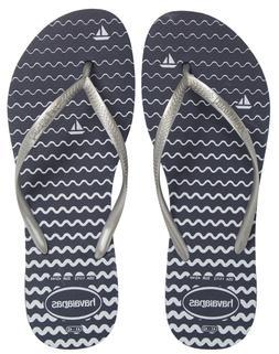 Havaianas  Women Shoes Slim Oceano Thong Flip-Flop Sandals B