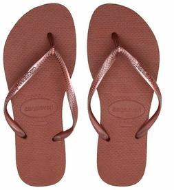 Havaianas Women Slim Flip Flops Thong Sandals Summer Shoes
