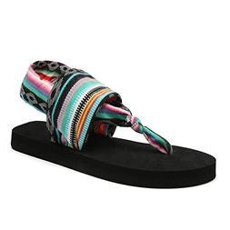 CIOR Women Yoga Sandals Flip Flop mat Sling Back Meditation